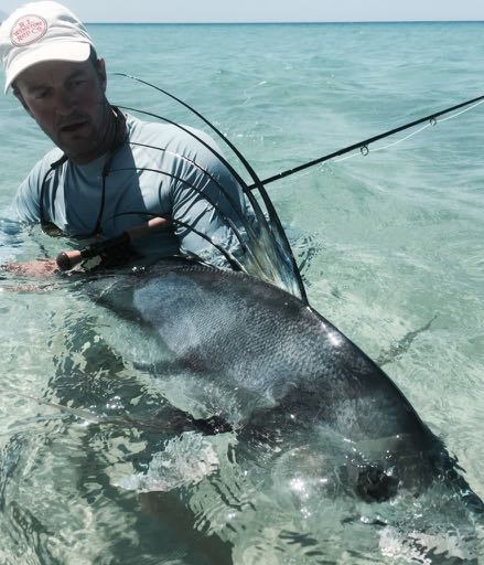 Grant Was The First To Land Giant Roosterfish From Beach As Well Pioneering And Perfecting Teasing With Lures For