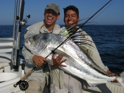 Copy of Jon Honorz big fly caught  roosterfish